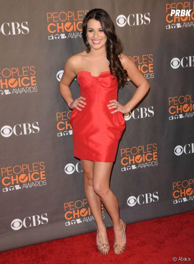 Lea Michele aux People's Choice Awards en 2010