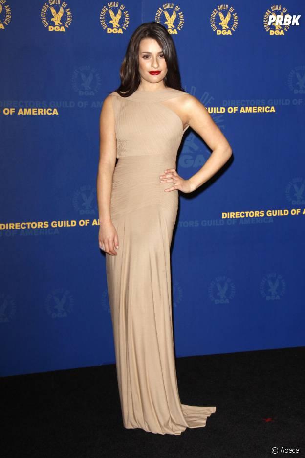 Lea Michele aux DGA en 2010