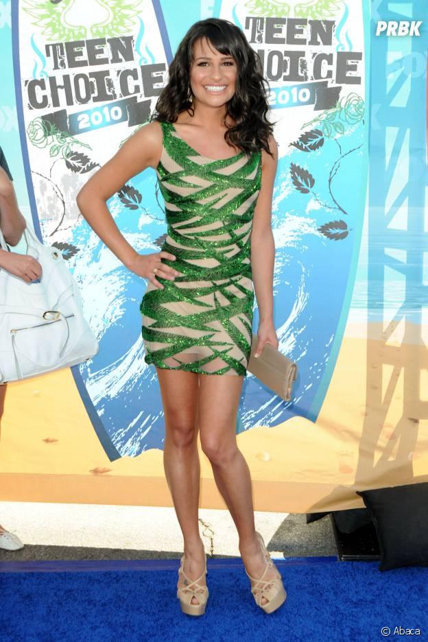 Lea Michele aux Teen Choice Awards 2010