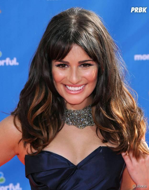 Lea Michele aux Emmy Awards 2010