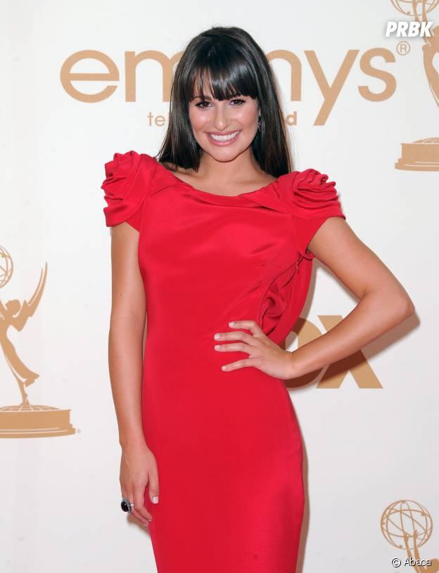 Lea Michele aux Emmy Awards 2011