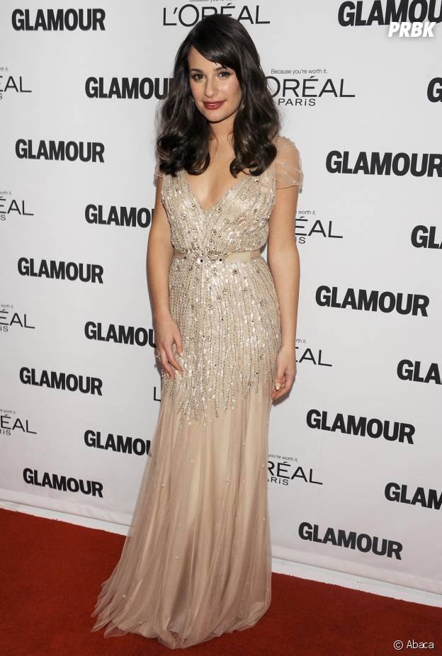 Lea Michele à une soirée L'Oréal en 2011