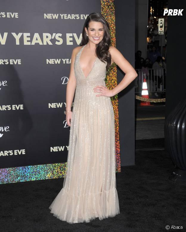 Lea Michele à l'avant-première du film Happy New Year en 2011