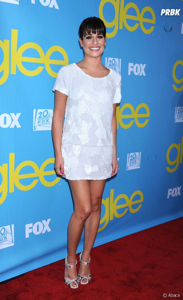 Lea Michele en 2012