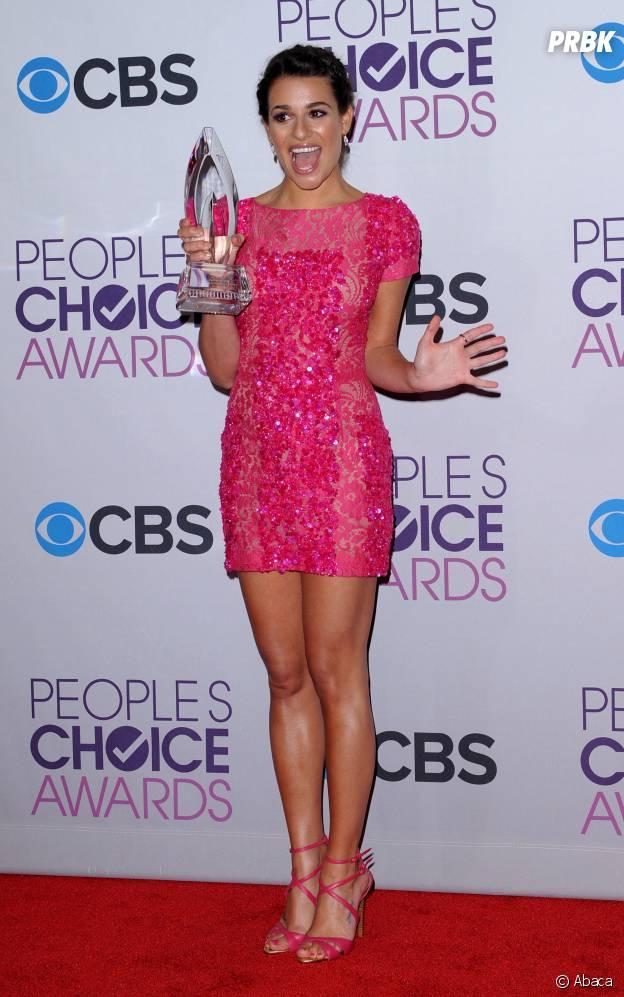 Lea Michele aux People's Choice Awards 2013