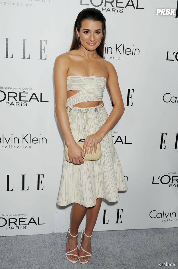Lea Michele amaigrie après la mort de Cory Monteith en 2013