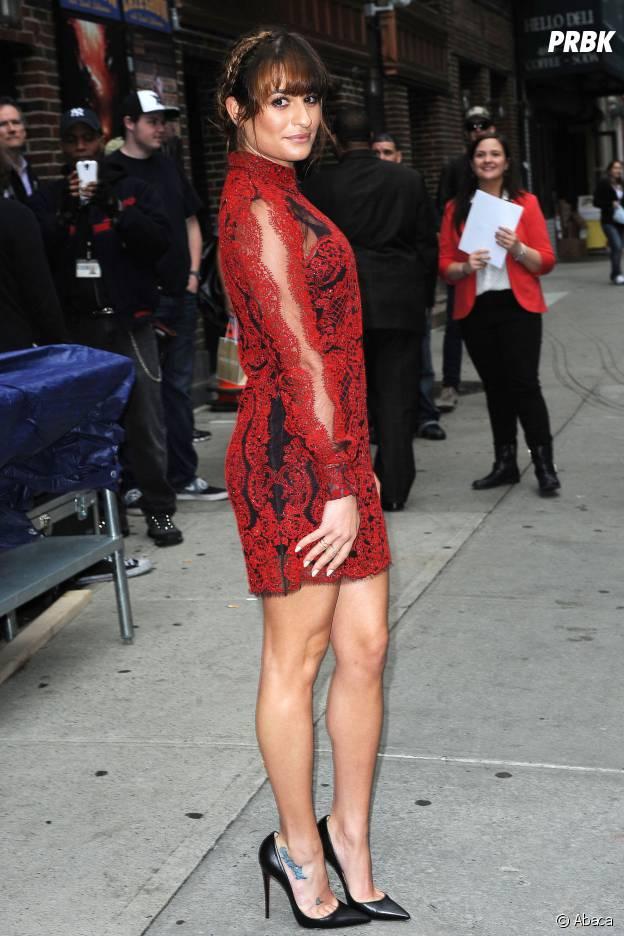 Lea Michele en 2014
