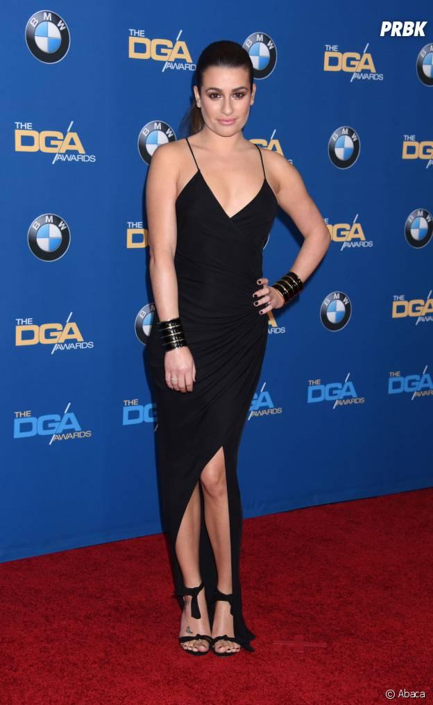 Lea Michele aux DGA en 2015