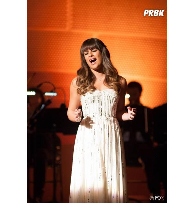 Lea Michele dans la saison 4 de Glee