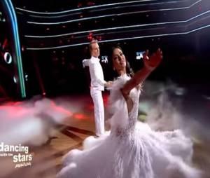 Leila Ben Khalifa : une valse envoûtante sur Love Story, d'Indila, dans Danse avec les stars au Liban, le 15 mars 2015