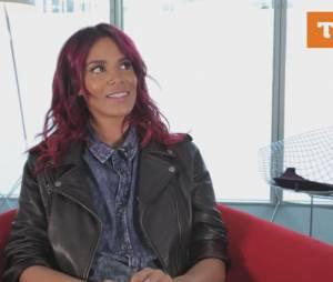 Shy'm parle de son compte INstagram dans une interview de Trace Urban diffusée le 15 avril 2015