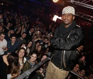 Black M fête les 20 ans du club La Plage à Bordeaux le 14 mars 2015