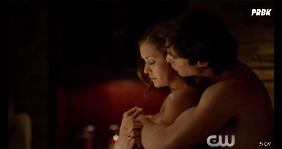 vampire diaries damon et elena photo