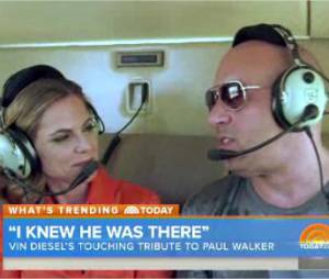 Vin Diesel en interview pour The Today Show, dévoile son nouvel hommage à Paul Walker