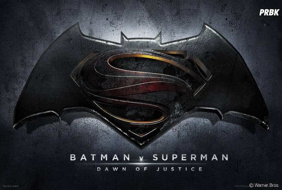 Batman v Superman : le logo du film