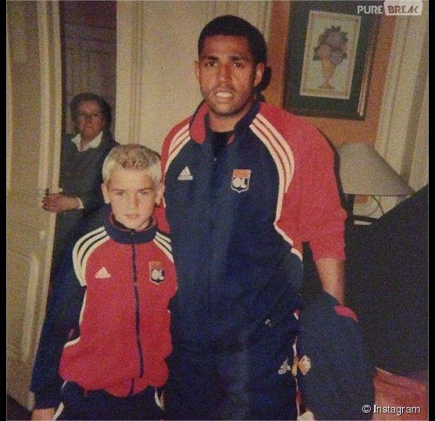 Antoine Griezmann : déjà tout petit, le footballeur était blond