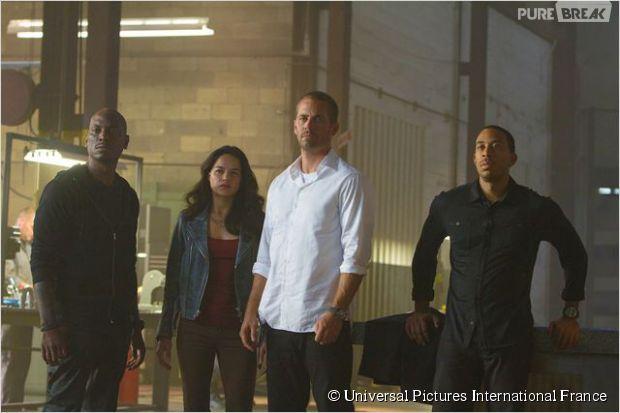 Paul Walker et Ludacris dans Fast and Furious 7