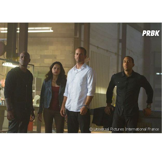 Paul Walker et Ludacris dans Fast and Furious 7