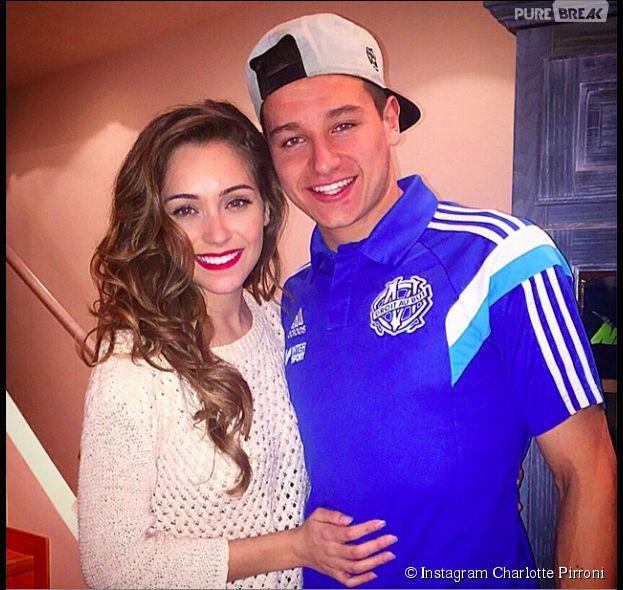 Charlotte Pirroni et Florian Thauvin : photo de couple sur Instagram, le 28 mars 2015 sur Instagram