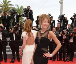 Elodie Fontan au Festival de Cannes 2014