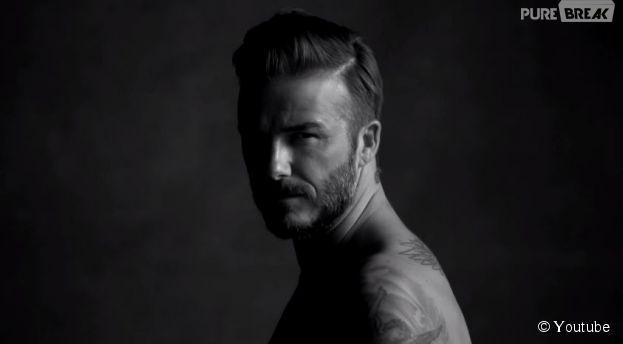 David Beckam sexy pour une parodie de sa pub H&M de 2012