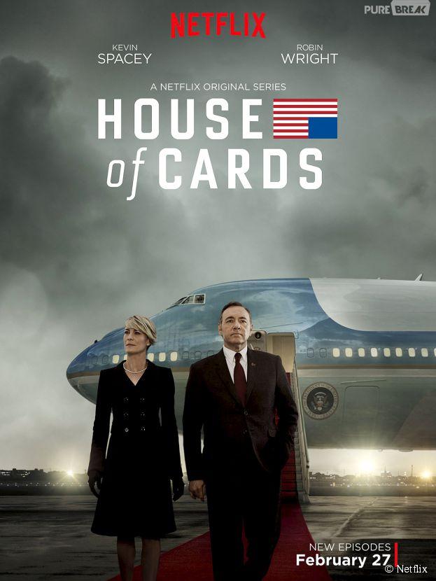 House of Cards saison 3 : une série réaliste selon Bill Clinton