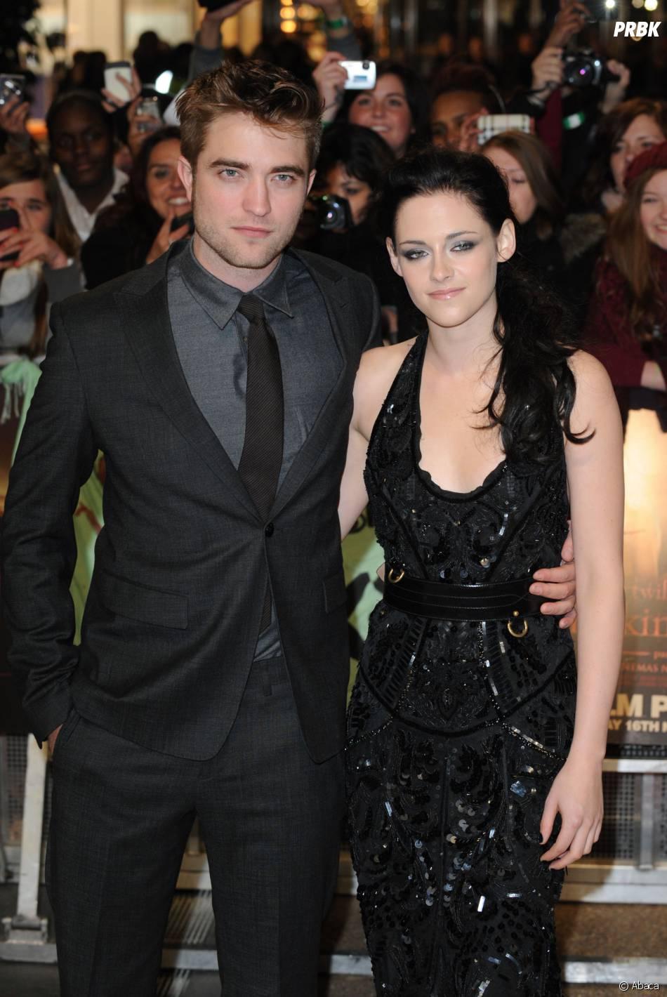 Kristen Stewart et Robert Pattinson sont tombés amoureux sur le tournage de Twilight