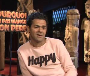 """Jamel Debbouze en interview pour Purebreak pour la sortie de """"Pourquoi j'ai pas mangé mon père"""", au cinéma le 8 avril 2015"""