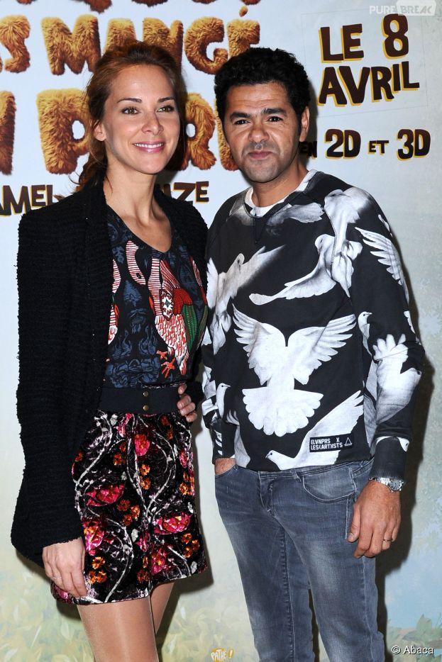 Jamel Debbouze et Mélissa Theuriau à l'avant-première de Pourquoi j'ai pas mangé mon père, le 29 mars 2015 à Paris