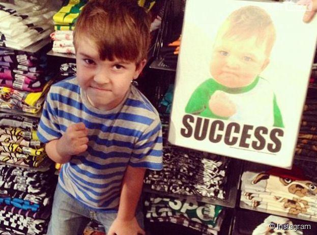 Sam Griner alias Success Kid, le bébé le plus célèbre du net, en appelle à la générosité des internautes