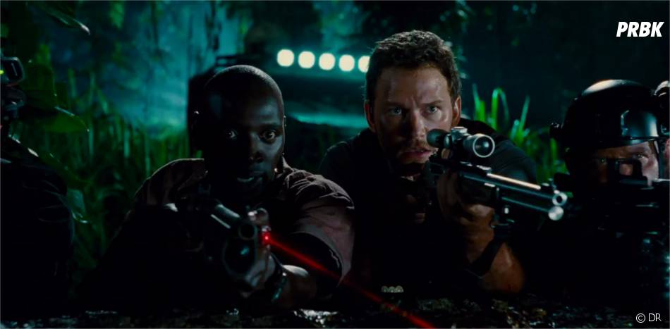 Jurassic World : Omar Sy et Chris Pratt dans la bande-annonce