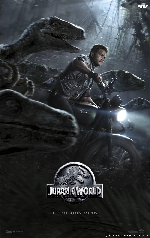 Jurassic World : Chris Pratt sur l'affiche