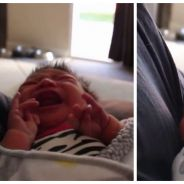 Trop mignon : la technique la plus geek d'un papa pour endormir son bébé. Le pouvoir de la Force !