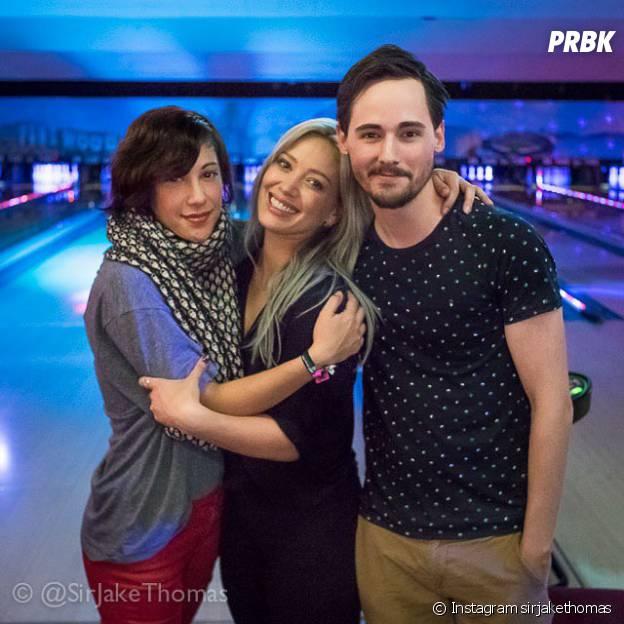 Lizzie Mcguire : les acteurs de la série de Disney réunis pour une soirée bowling, le 28 avril 2015