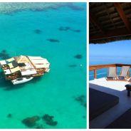 La terrasse la plus cool pour cet été ? Cloud 9, un bar flottant au milieu de l'océan !
