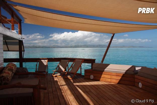 Cloud 9 Fiji, un endroit vraiment chouette pour bronzer