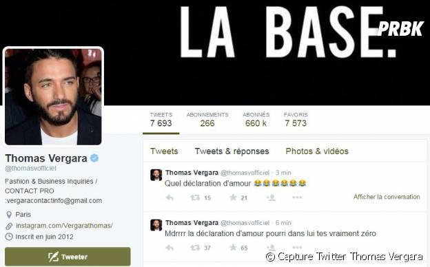 Thomas Vergara clashe Nabilla Benattai sur Twitter le 1er mai 2015