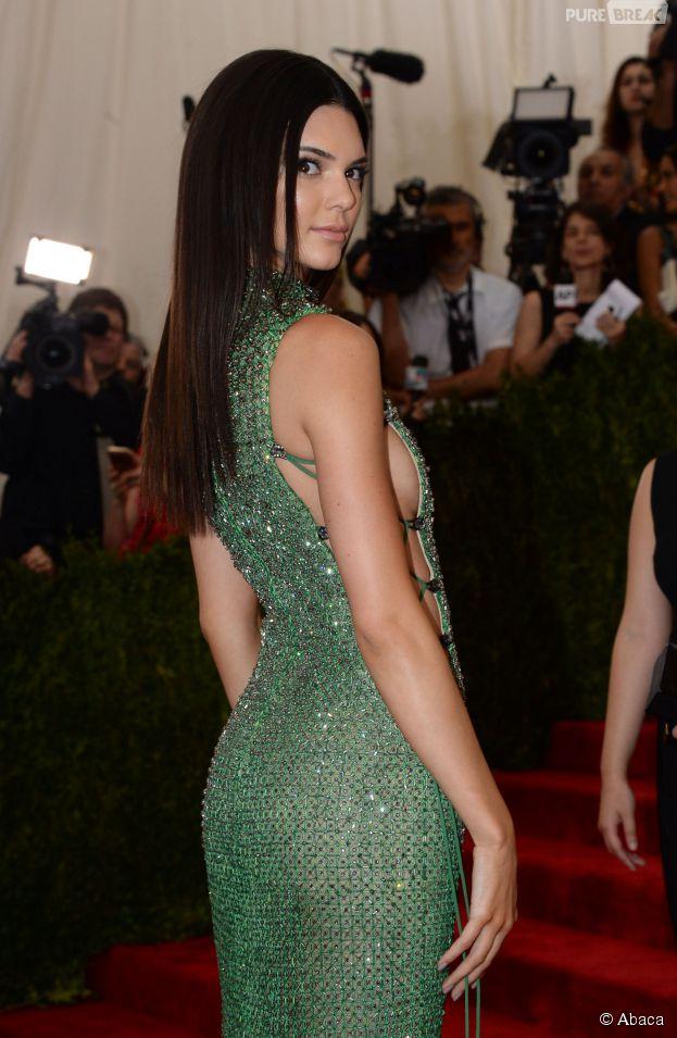 Kendall Jenner au Met Gala 2015, le 4 mai 2015 à New York