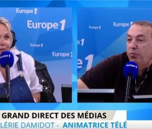 Valérie Damidot explique son départ de M6 à NRJ12, au micro de Jean-Marc Morandini sur Europe 1 le 13 mai 2015