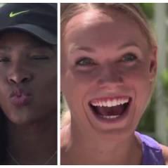 Serena Williams, Maria Sharapova... Quand les stars du tennis féminin imitent les emojis !