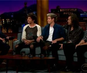 One Direction : nouvelles confidences sur le départ de Zayn Malik dans le Late Late Show de James Corden le 14 mai 2015
