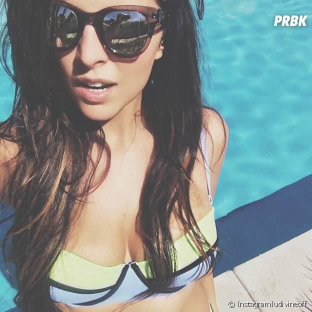 Ludivine Aubourg sexy avec un bikini Triangle sur Instagram