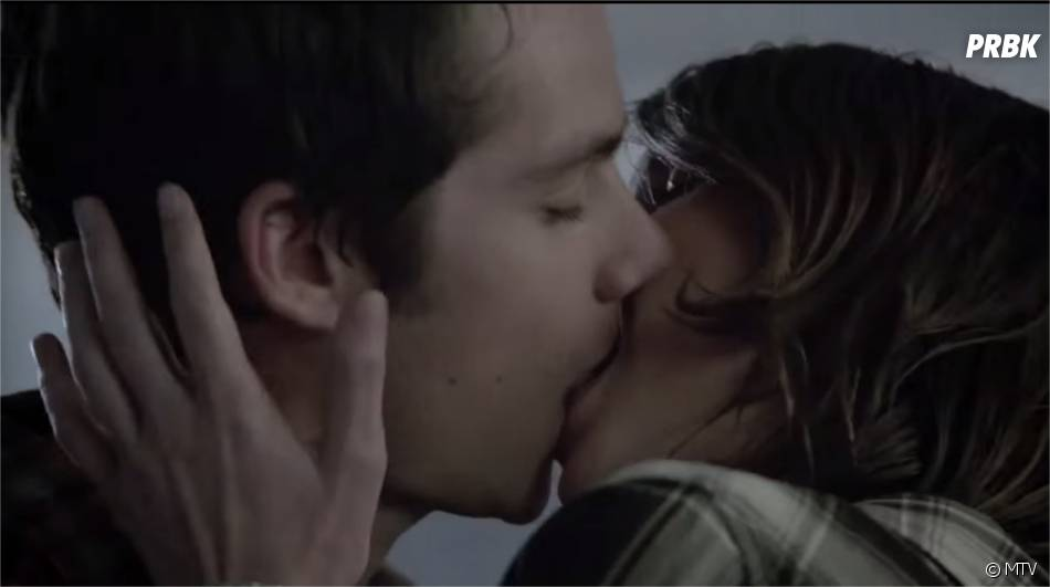 stiles and malia kiss