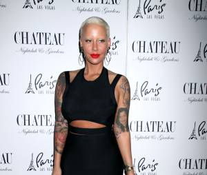 Amber Rose lors de la soirée Memorial Day au club Château de Las Vegas, le 23 mai 2015