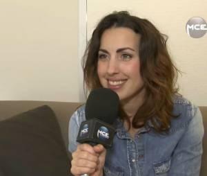 Maude en interview pour MCE