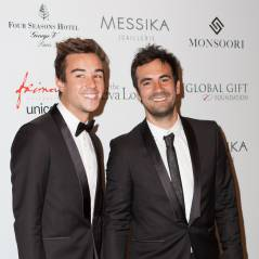 Alex Goude et son mari, Noémie Lenoir enceinte... des stars tout sourire au Global Gift Gala 2015