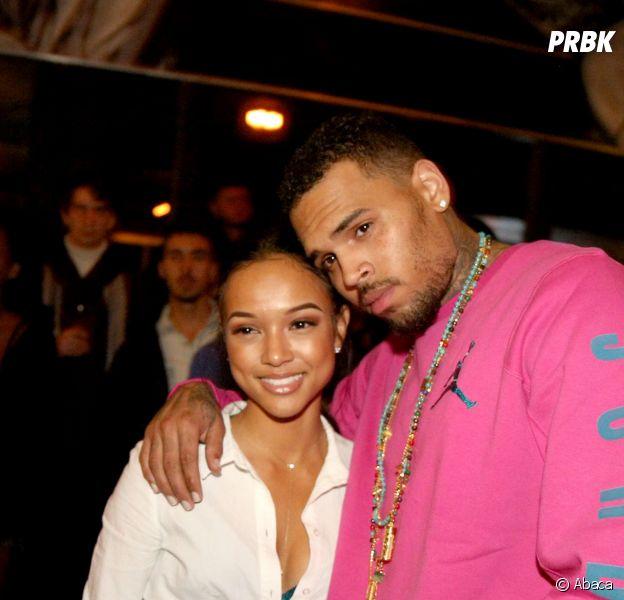 Chris Brown jaloux de Karrueche Tran : sur Twitter, il insulte un mannequin qui pos avec son ex