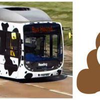 Record de vitesse pour un autobus écologique propulsé... au caca ! C'est pas de la m**** !