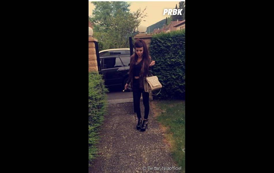 Niia Hall accro à Snapchat
