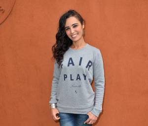 Aïda Touihri au Village Roland Garros le 3 juin 2015